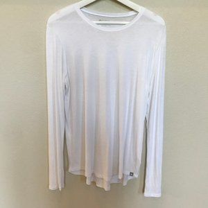 FIGS Super Soft Long Slv UNDERSCRUB TEE Size Large